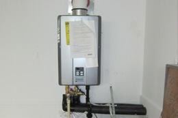 Repairing a Tankless Hot Water Heater