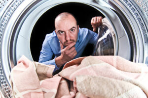 The washer machine can easily become the source of strange odors and sewer gas.