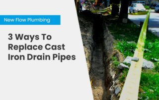 NFP Blog Cover 3 Ways To Replace Cast Iron Drain Pipes