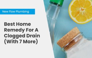NFP Blog Cover Best Home Remedy For A Clogged Drain (With 7 More)