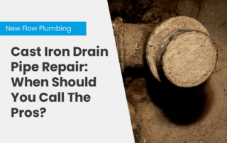Cast Iron Drain Pipe Repair: When Should You Call The Pros?