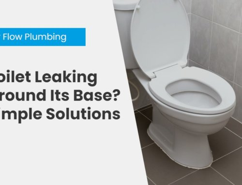Toilet Leaking Around Its Base? Simple Solutions