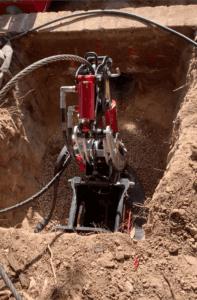 pipe bursting machine