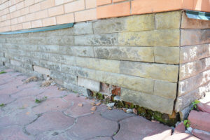 A broken sewer line can cause foundation damage.
