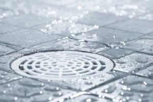 shower drains that smell like sewage are no fun